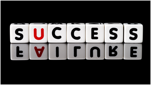Building success from setbacks